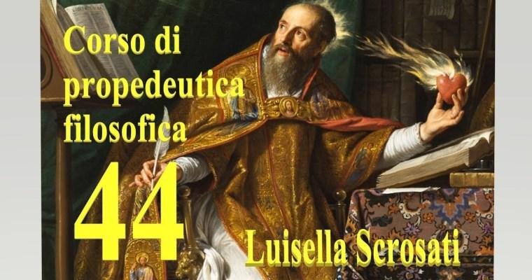 Gnoseologia 14 – Astrazione universalizzatrice (3)