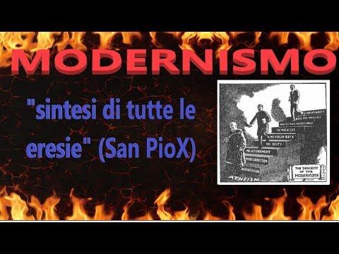 Il modernismo, sintesi di tutte le eresie