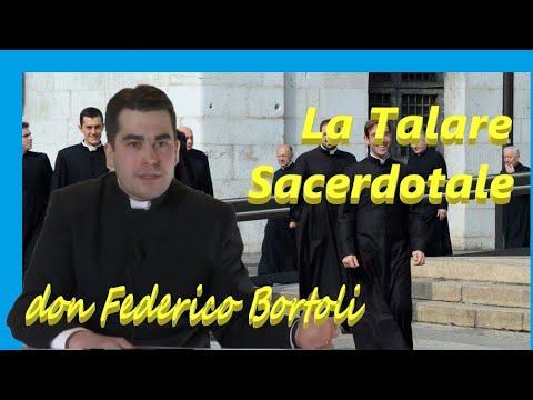 La veste talare dei sacerdoti