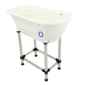 portable dog grooming tub