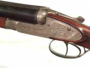 12 gauge Belgian-made double barrel sidelock ejector shotgun