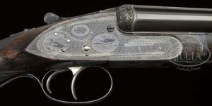 16 gauge Purdey Extra Finish double barrel shotgun, Kell engraved