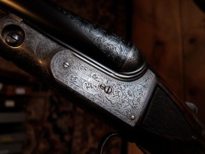 12 gauge Parker AAHE Double Barrel Shotgun