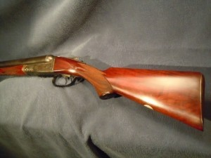 Parker DH grade double barrel shotgun