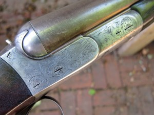 Joseph Jakob 10 gauge double barrel shotgun
