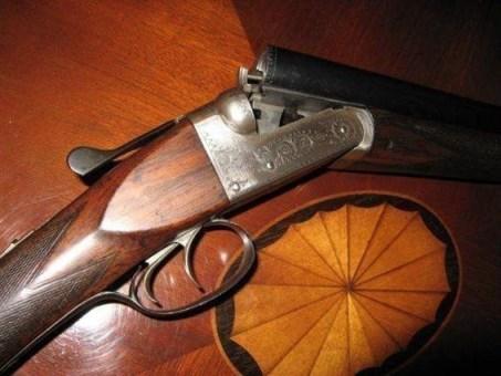 Anson & Deeley Boxlock Shotgun
