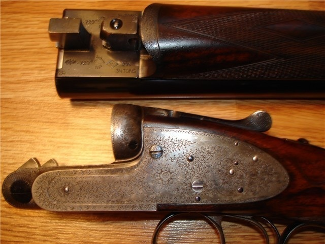 12g Purdey Side-by-Side Double Barrel Shotgun