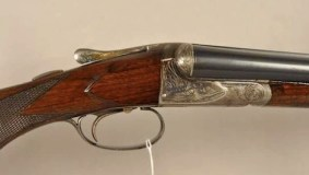 Fox A grade 20 gauge double barrel shotgun