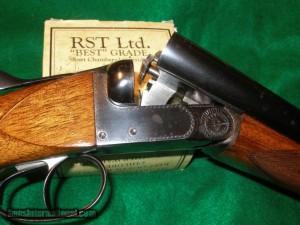 12 gauge FN double barrel shotgun
