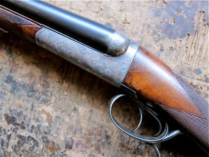 16 gauge Manufrance Ideal Double Barrel Shotgun