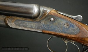 16 gauge Lefever FE double barrel shotgun