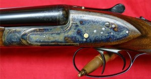 20 gauge Masquelier sidelock double barrel shotgun