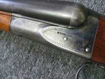 20 gauge A.H. Fox Sterlingworth Double Barrel Shotgun