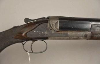 Fredrick Baker 4 gauge sidelock shotgun