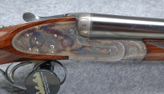 Henry Atkin Spring Opener Model 1909 Double Barrel Shotgun