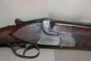 20 gauge Greifelt Double Barrel Over Under Shotgun