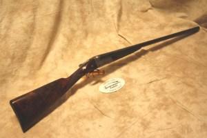 W.W. Greener Double Barrel, Side-by-Side 16 gauge shotgun