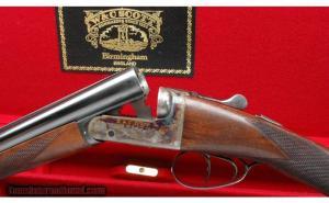 W & C Scott Kinmount 20 gauge double barrel shotgun