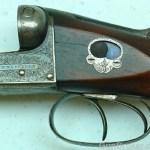 12 gauge W.W. Greener side-by-side shotgun
