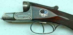 12 gauge W.W. Greener side-by-side shotgun