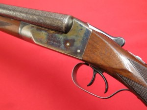 16 gauge Ithaca Flues Doubles Barrel SxS shotgun
