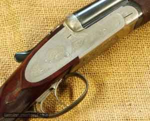 28 gauge Saraqueta side-by-side double barrel shotgun