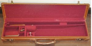 Leather Abercrombie & Fitch Shotgun case