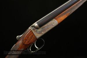 28 gauge John Wilkes Boxlock Side-by-Side Double Barrel Shotgun