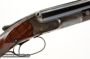 16 gauge D.M. Lefever, #7 Grade, Double Barrel Shotgun