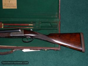 12 gauge Churchill Double Barrel. Side-by-Side Shotgun