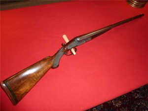16 gauge Lefever E-grade Thumb Lifter Shotgun