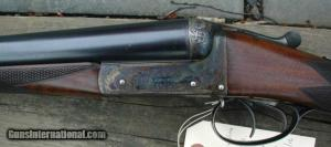 "12 gauge J. Dickson & Sons 2 3/4"" Heavy Proof Double Barrel Side-by-Side Shotgun"