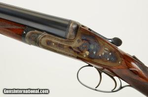 12 gauge Holland & Holland Royal Double Barrel, Side-by-Side Shotgun.