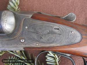 12 gauge L.C. Smith 3E side-by-side double barrel shotgun