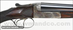 12 gauge Francotte 14E Double Barrels Side by Side Shotgun