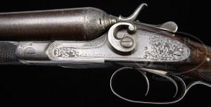 12 gauge W. & C. Scott Zephyr Lightweight Double Barrel Hammer Shotgun
