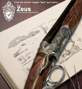 FAMARS Zeaus side-by-side double barrel shotgun