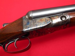 Parker Bros. VH 12 gauge Double Barrel Side by Side Shotgun, 1950 Remington Refinish
