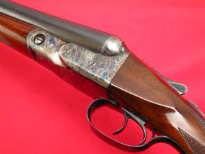 Parker Bros. VH 12 gauge Double Barrel Side by Side Shotgun, 1950 Remington Refinish