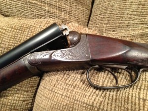 A.H. Fox, 20 gauge, A grade, Double Barrel, Side by Side Shotgun
