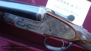 "Boss & Co. 20 ga., best side by side, 26"" barrels"