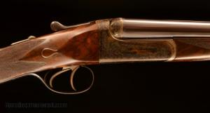 "Westley Richards 20 bore Droplock Double Barrel Shotgun with 30"" barrels & Double Triggers"