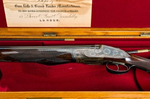 28 gauge Boss & Co. Over-Under Double Barrel Shotgun #6838