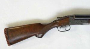 20 gauge Ithaca double barrel Side by Side Shotgun