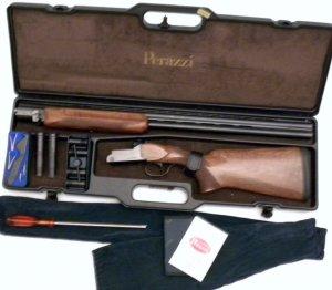 12 gauge Perazzi MX-6 Double Barrel Over Under Shotgun, New in Case