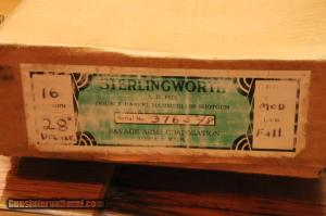 16 gauge Fox Sterlingworth Deluxe, New in Box