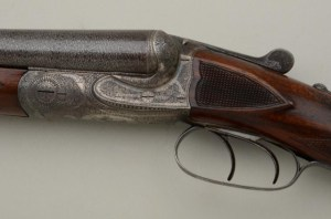12 gauge Charles Daly Prussian/Lindner Diamond Quality Double Barrel Side-by-Side Shotgun