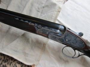 "A 20 Gauge Boss O/U Double Barrel Shotgun, 28"" barrels, Single Trigger, Rising Bite"
