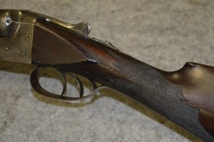 12 gauge Baltimore Arms C-grade double barrel shotgun