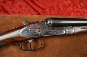 12 gauge Arrieta 871 Double Barrel Side-by-Side Shotgun